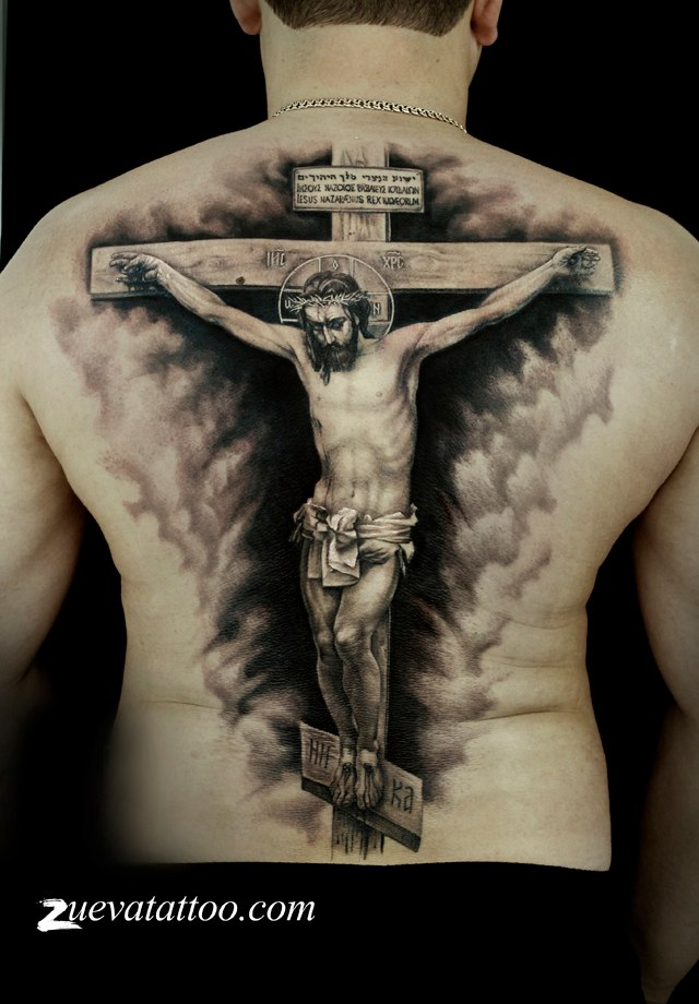 сада, крест с иисусом тату картинки календула